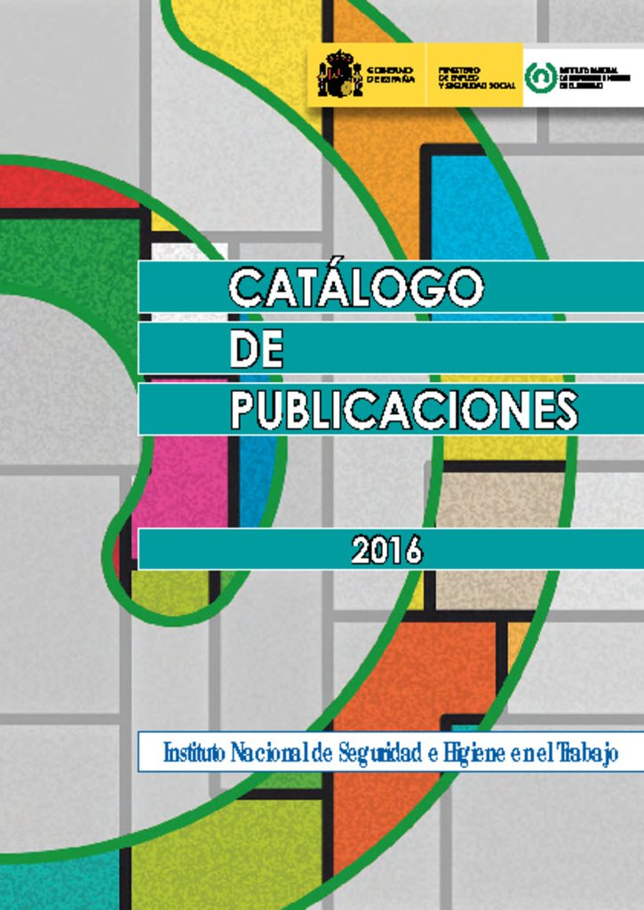 thumbnail of Catalogo de publicaciones 2016
