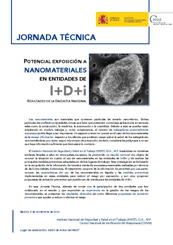 thumbnail of programa-de-la-jt-potencial-exposicin-a-nanomateriales-en-entidades-de-idi.-resultados-de-la-encuesta-nacional-madrid-7-de-noviembre-de-2019