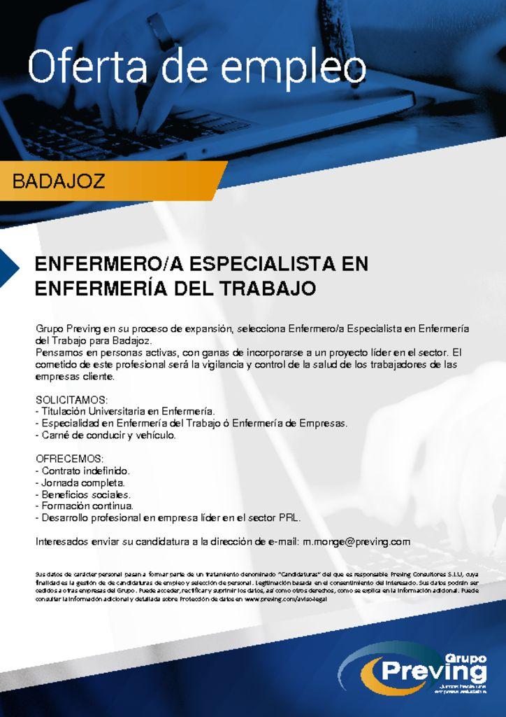 thumbnail of oferta-de-empleo-enfermeros-badajoz
