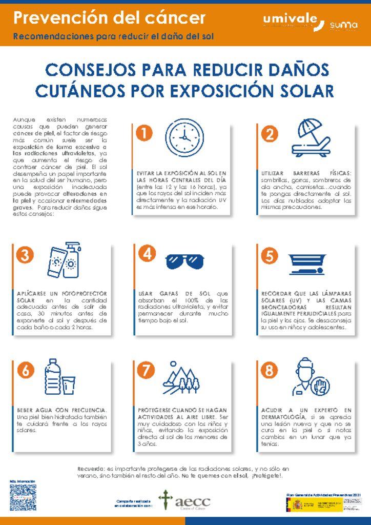 thumbnail of prevencion-del-cancer.-recomendaciones-para-reducir-el-dano-del-sol
