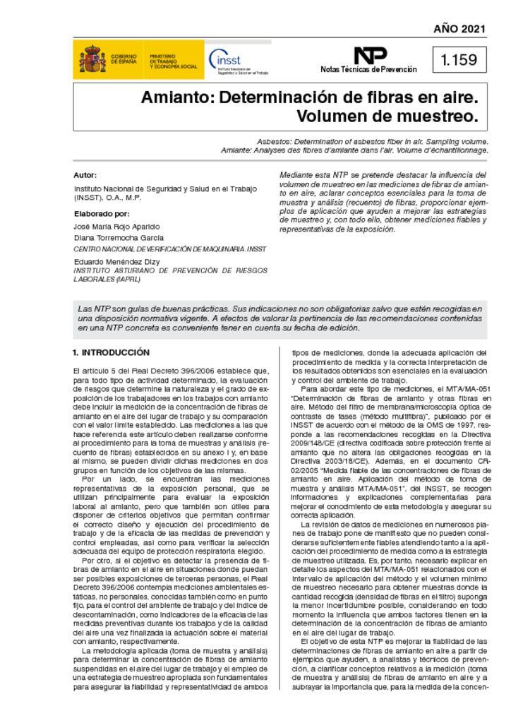 thumbnail of ntp-1159-amianto-determinacion-de-fibras-en-aire.-volumen-de-muestreo-ano-2021